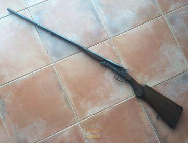 """Escopeta plana KL """"El Chimbo"""" modelo PR, de 12mm"""