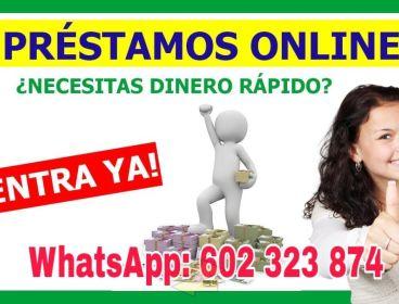 PRÉSTAMOS RÁPIDO Y SEGURO : +34 (602 323 874)